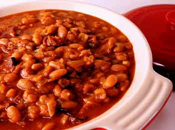 Ground Beef and Baked Beans
