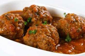 Curry Ground Beef Meatballs
